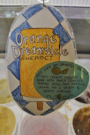 Ample Hills Creamery Orange Dreamsicle Sherbet