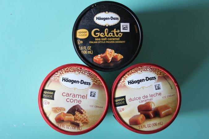 Haagen-Daz Caramel Ice Cream