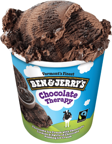 Ben & Jerry's chocolate therapy