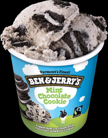 Ben & Jerry's Mint Chocolate Cookie Ice Cream